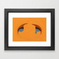 Tears Of Love Framed Art Print