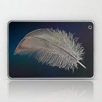 Swan Feather Laptop & iPad Skin