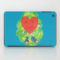 A Heart With Sneakers On iPad Case