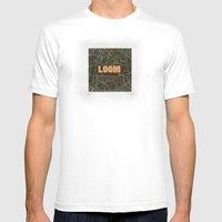 Loom Knox Mens Fitted Tee White SMALL