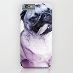 color pug iPhone 6 Slim Case
