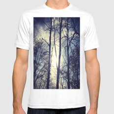 Your light will shine in the darkness Mens Fitted Tee White SMALL