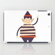 Santa's Elf Says HI iPad Case