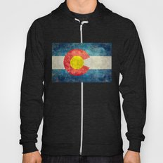 Colorado Flag - Vintage … Hoody