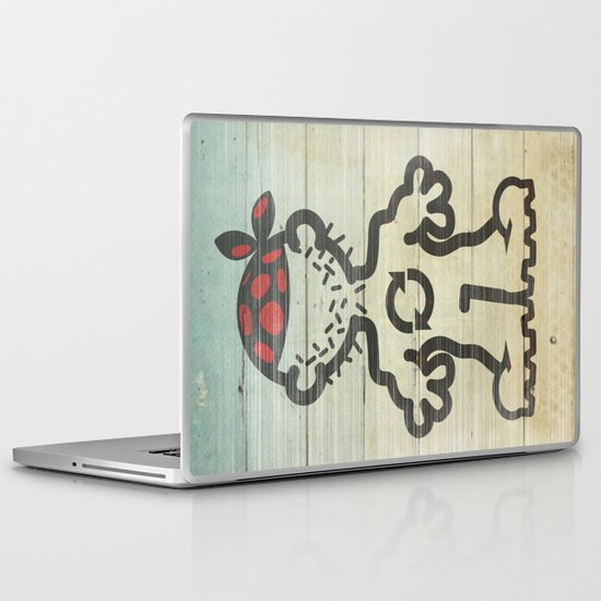 upcycle pirate Laptop & iPad Skin