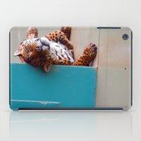 Reclining Jaguar iPad Case