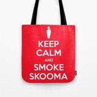 Smoke Skooma Tote Bag