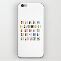 Pixel Muppet Show Alphab… iPhone & iPod Skin