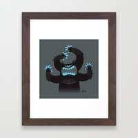 Monster In My Pants Framed Art Print