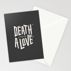 Death from a love Stationery Cards