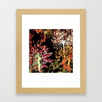 Collage pattern II Framed Art Print