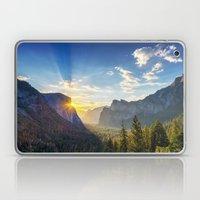 Yosemite Sunburst Laptop & iPad Skin