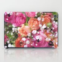 Baby's Breath and Candy Roses iPad Case