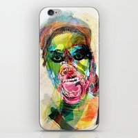 The Human Beast iPhone & iPod Skin