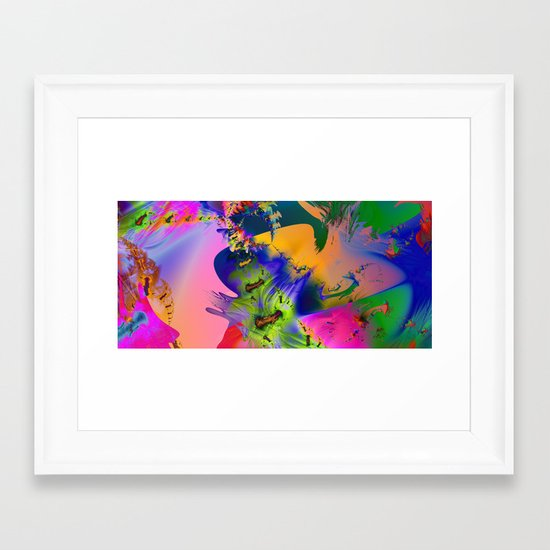 The Boneyard Framed Art Print