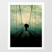 Walk Away Art Print
