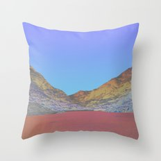 Chromascape 11: Snowdon Throw Pillow