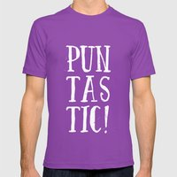 Puntastic! Mens Fitted Tee Ultraviolet SMALL
