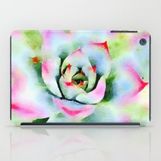 Watercolor Succulent iPad Case