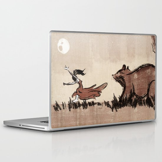 Moon Dance Laptop & iPad Skin