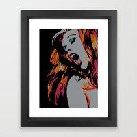 Ecstasy Framed Art Print