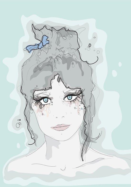 Zooey. Art Print