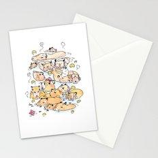 Wild family series - Capybara Stationery Cards