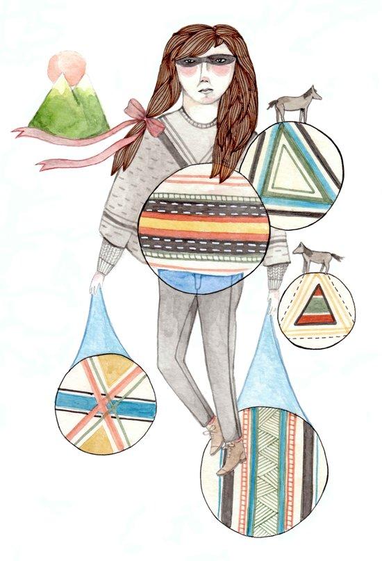 Patterns/Circles Art Print