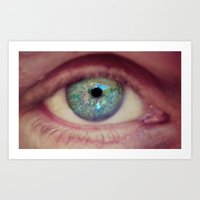 World Eye View Art Print