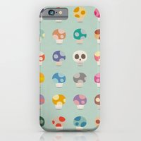 How to Tell Poison Mushrooms iPhone 6 Slim Case