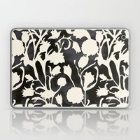 Black And White Floral 0… Laptop & iPad Skin