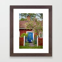 The Cottage. Framed Art Print