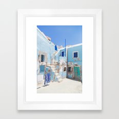 SANTORINI SERIES #1 Framed Art Print