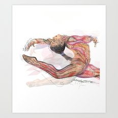 The Olympic Games, London 2012 Art Print