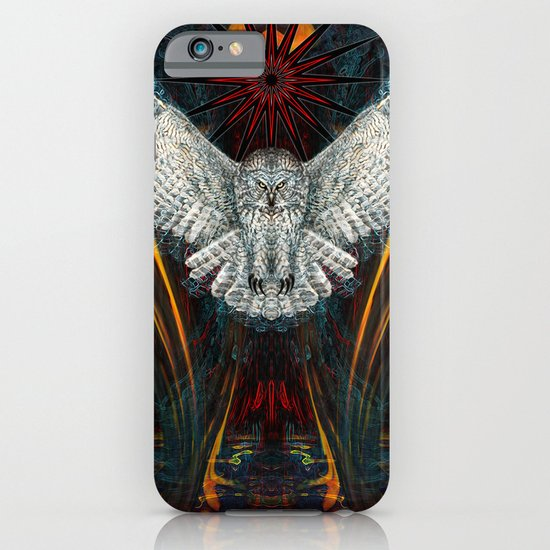 The Great Grey Owl iPhone & iPod Case