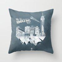 Sick City Throw Pillow