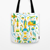 Shape-A-Licious Tote Bag