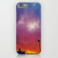Rainbow clouds iPhone 6 Slim Case