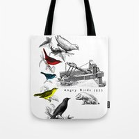 Etude - Angry Birds Tote Bag