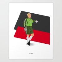 Peter Schmeichel - Manch… Art Print