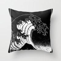 Hokusai, the Great Wave Throw Pillow