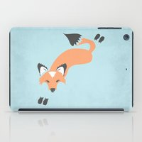 iPad Case featuring Foxy Roxy by Beth Thompson
