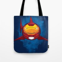 Tony Shark Tote Bag