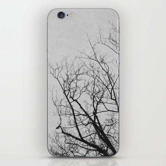 2 Trees (Grey) iPhone & iPod Skin