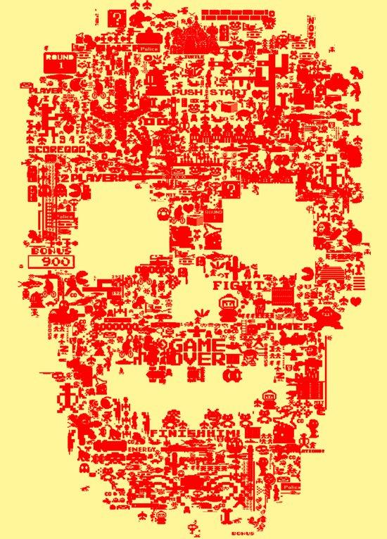 8-bitter Art Print