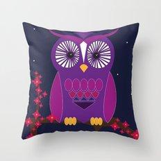 Night time  Throw Pillow