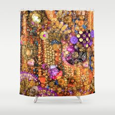 Maroccan Magic Shower Curtain