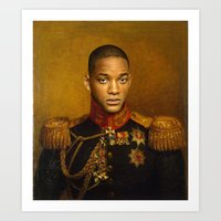 Will Smith - Replaceface Art Print