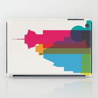Shapes of Vancouver. Accurate to scale. iPad Case