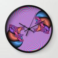 Blinding Illusion Wall Clock